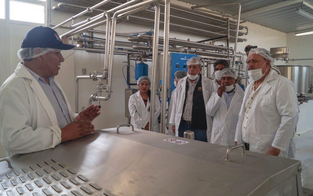 MINAGRI implementó moderna planta de procesamiento de derivados lácteos en Arequipa