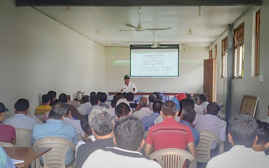 MINAGRI capacita en asociatividad a productores agrarios de San Martín y Loreto