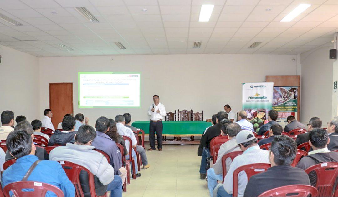 Fortalecen capacidades técnicas y empresariales de productores agrarios de Huánuco
