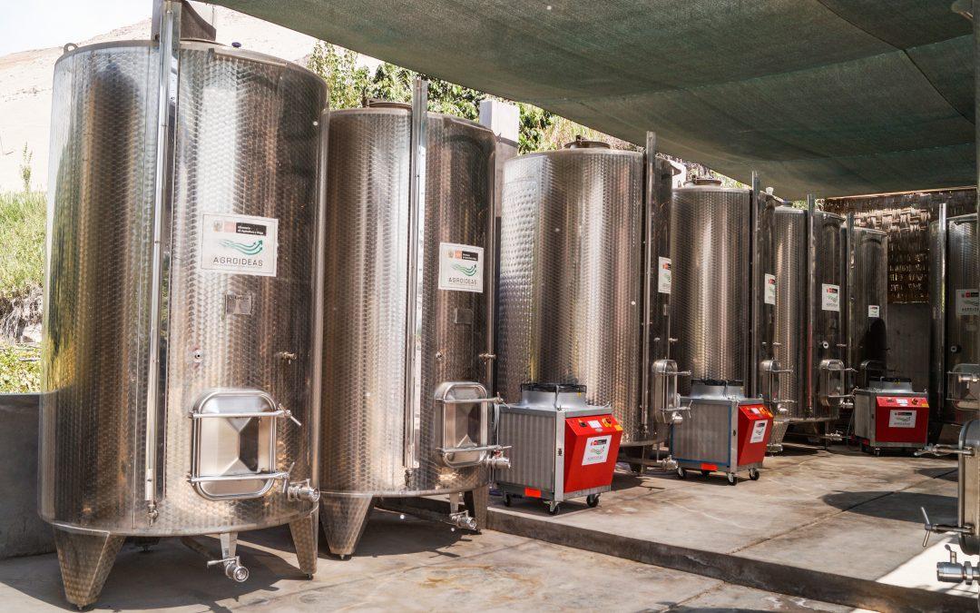 Arequipa: MINAGRI inaugura moderna planta de producción de pisco para impulsar su exportación