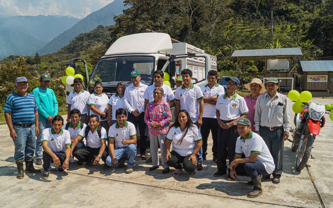 MINAGRI: Inauguran Centro de Acopio de café y entregan equipos a productores de Monobamba