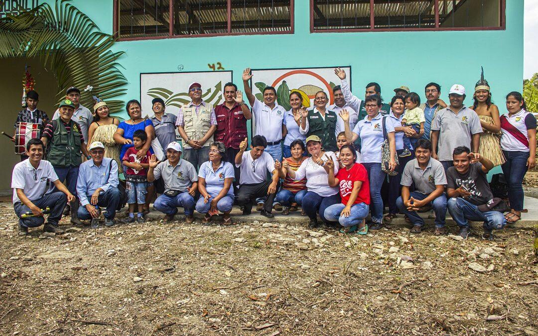 Asociación Agroecológica Huanganapampa implementó módulo de post cosecha de cacao